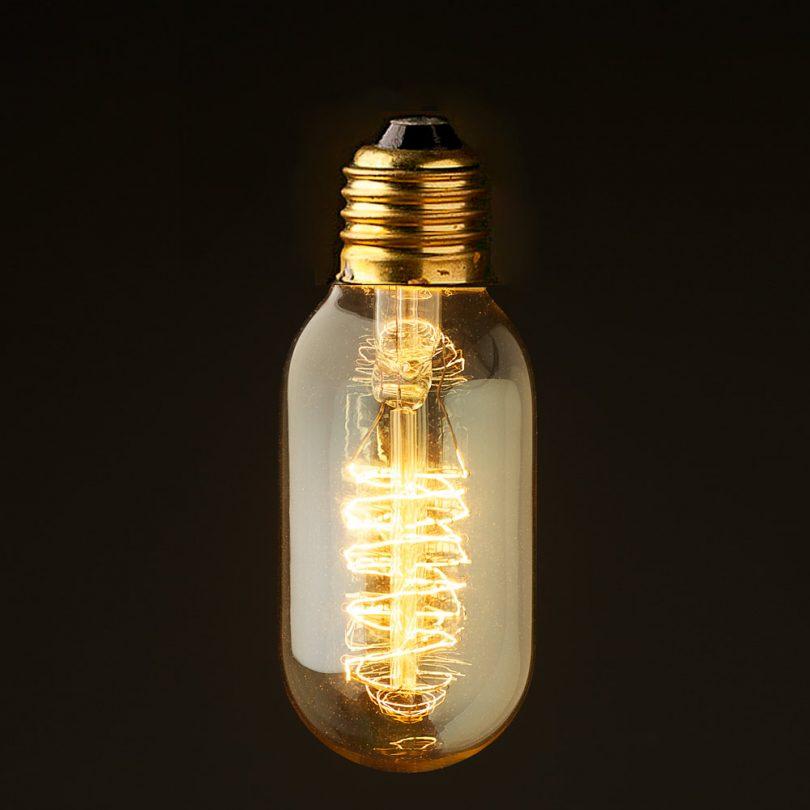 EDISON-žiarovka-SPIRAL-E27-40W
