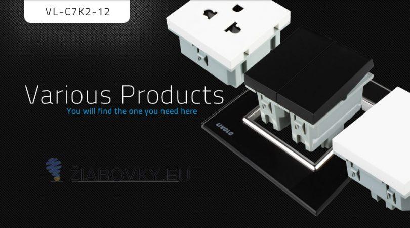 Vypínače sa vyznačujú dlhou životnosťou, otrasuvzdornosťou, farebnou stálosťou, pevnosťou povrchových úprav a lesklosťou skleneného povrchu