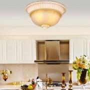 Luxusné-stropné-svietidlo-Dvojitý-Tanier-s-ručnou-maľbou-2