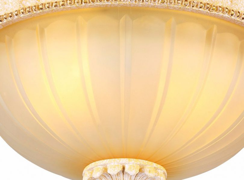 Luxusné-stropné-svietidlo-Dvojitý-Tanier-s-ručnou-maľbou-7