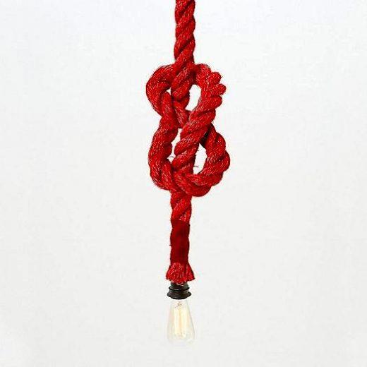 Závesný-lanový-luster-v-historickom-vzhľade-v-červenej-farbe-1m-jedna-pätica1