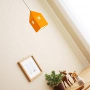Detské závesné svietidlo v štýle mini domčeka
