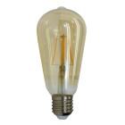 FILAMENT žiarovka - TEARDROP - E27, Teplá biela, 4W, 350lm, V-TAC