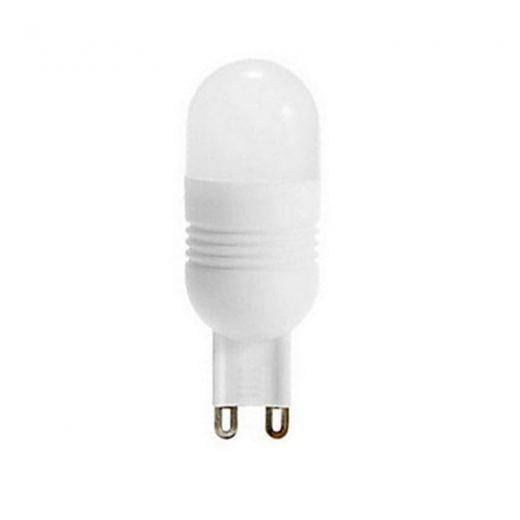 Keramická LED žiarovka - G9, 3W, Teplá biela