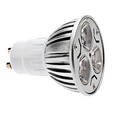 LED bodová žiarovka - KLASIK - GU10, 3W, studená biela Vám zabezpečí veľkú úsporu elektrickej energie oproti klasickým žiarovkám