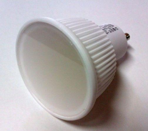 TopTech, vysokokvalitná, keramická, LED žiarovka, GU5.3, 6W, teplá biela, 420lm