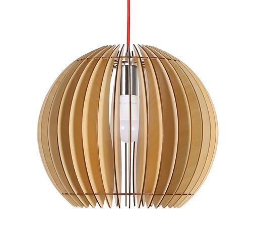 Originálne závesné drevené svietidlo z kolekcie iWood - GULA