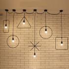 Historické stropné svietidlá v rôznych štýloch2