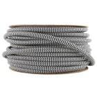 Kábel-dvojžilový-v-podobe-textilnej-šnúry-so-vzorom-v-čiernej-farbe-2-x-0.75mm-1-meter