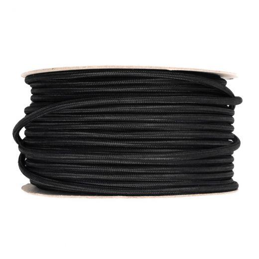 Kábel-dvojžilový-v-podobe-textilnej-šnúry-v-čiernej-farbe-2-x-0.75mm-1-meter-1