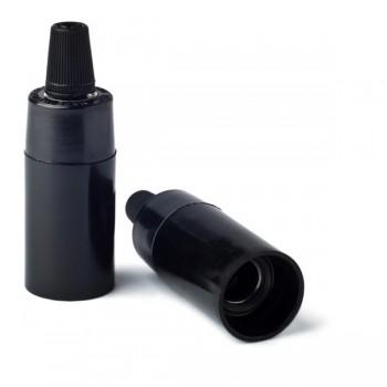 Lakovaná-bakelitová-objímky-v-modernom-štýle-pre-žiarovky-s-päticou-E14.-Vybavená-skrutkou-pre-zabránenie-vytiahnutia-kábla-zo-zásuvky
