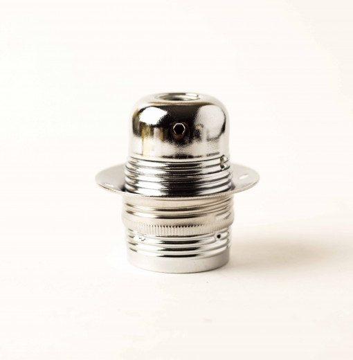 Masívna-dekoračná-objímka-E27-•-s-okrasnou-skrutkou-•-kov-•-strieborná1