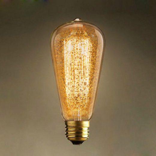 Dekoračná žiarovka - ANTIQUE TEAR - E27, 40W, Teplá biela6