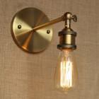 Historické nástenné svietidlo na žiarovky typu E27 v bronzovej farbe2