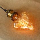 EDISON žiarovka - HEART - E27, 40W, 150lm (5)