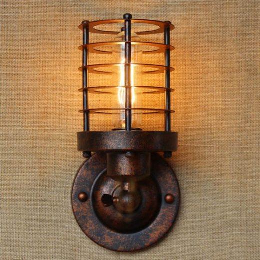 Retro nástenné svietidlo Stair (2)