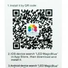 Inteligentná LED Bluetooth žiarovka - Classic, E27, 4.5W3
