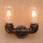Priemyselné nástenné svietidlo Cloche s dvomi päticami4