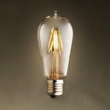 FILAMENT žiarovka - MINI LANTERN - E27, 4W, 450lm (2)