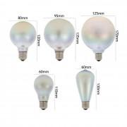 Kolekcia dekoratívnych žiaroviek obsahuje 3D farebný efekt