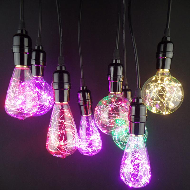 Vďaka dynamickému dizajnu, tieto žiarovky napodobňujú klasicky štýl EDISON žiaroviek, avšak s využitím moderných LED diód vo farbách