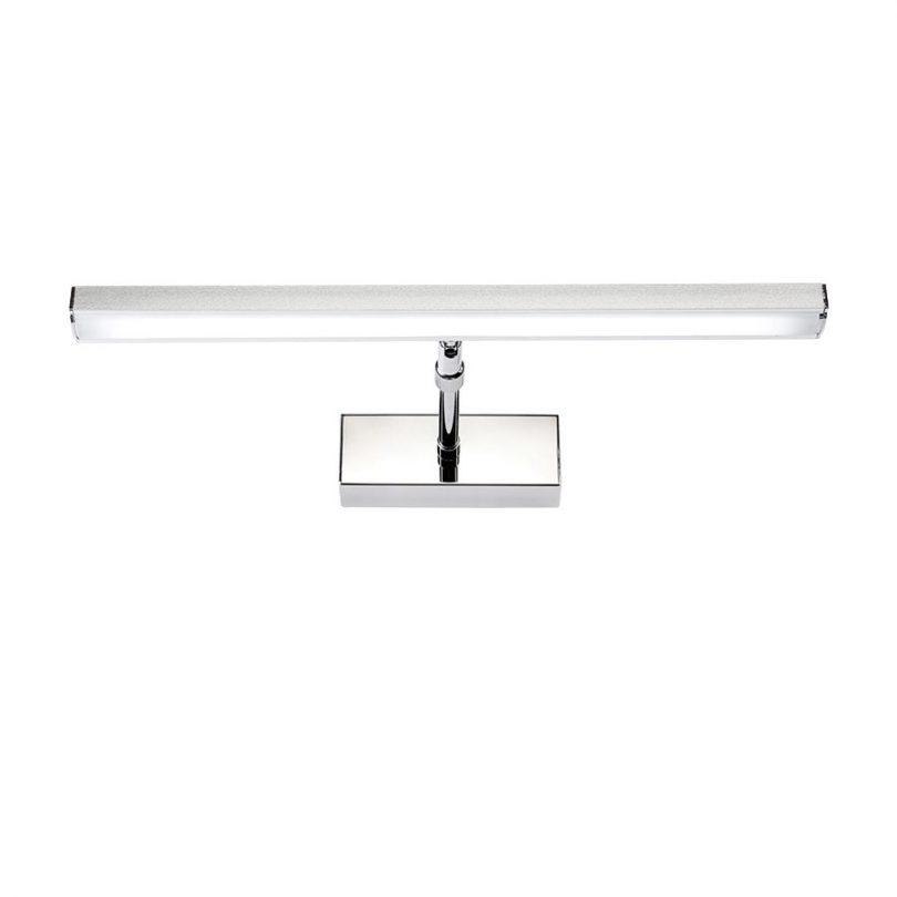 LED 7W nástenné svietidlo s nerezovej ocele, teplá biela