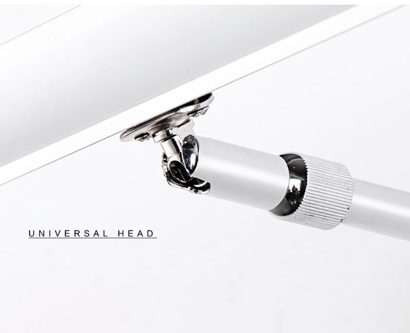 LED 7W nástenné svietidlo s nerezovej ocele vysokej kvality určené do kupeľne, wc, kuchyne a pod (1)