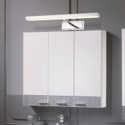 LED 7W nástenné svietidlo s nerezovej ocele vysokej kvality určené do kupeľne, wc, kuchyne a pod (3)